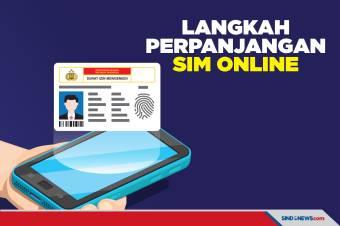 Ini Langkah Perpanjang SIM Online, Jangan Alasan Tak Punya Waktu