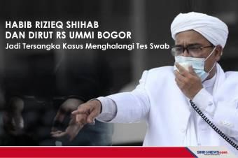 Habib Rizieq Shihab dan Dirut RS Ummi Bogor Jadi Tersangka