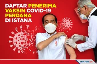 Selain Presiden, Ini Daftar Penerima Vaksin Covid-19 di Istana
