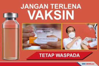 Jangan Terlena Vaksin, Tetap Patuhi Protokol Kesehatan