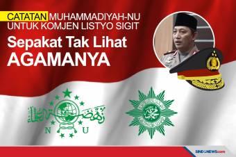 Tanpa melihat agamanya, Muhammadiyah dan NU Dukung Calon Kapolri