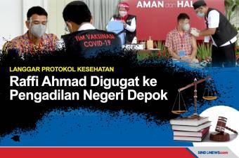 Langgar Protokol Kesehatan, Raffi Ahmad Digugat ke Pengadilan