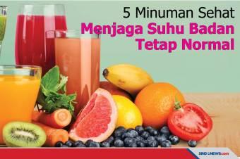 5 Minuman Sehat untuk Menjaga Suhu Badan Tetap Normal