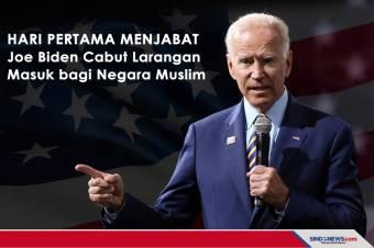 Joe Biden Akan Cabut Larangan Masuk bagi Negara Muslim
