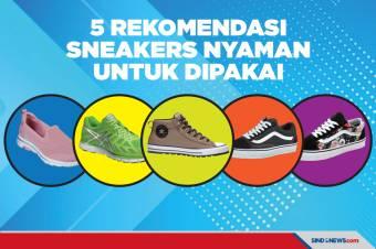 5 Rekomendasi Sneakers yang Nyaman untuk Dipakai