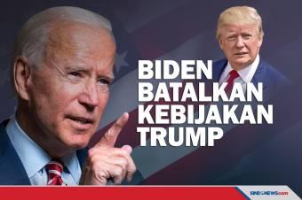 Biden Batalkan Kebijakan Trump Melalui Perintah Eksekutif