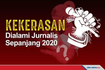 Sepanjang 2020, Kekerasan Dialami Jurnalis dalam Bertugas