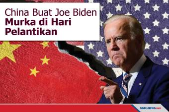 China Buat Presiden Joe Biden Murka di Hari Pelantikannya