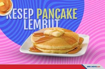 Resep Pancake Lembut, Simpel Banget Cara Bikinnya!