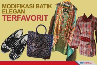 Jadi Warisan Budaya, Berikut Modifikasi Batik Elegan Terfavorit