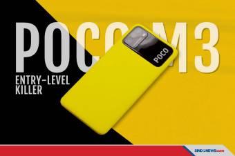 POCO M3 Entry-Level Killer Meluncur, Ini Harga dan Spesifikasinya