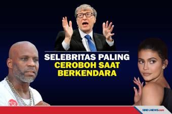 Bill Gates Masuk Daftar Selebritas Paling Ceroboh saat Berkendara