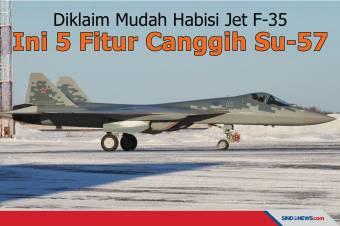 Diklaim Mudah Habisi Jet F-35, Ini 5 Fitur Canggih Su-57