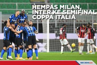 Coppa Italia 2020-2021: Ibra Kartu Merah, Inter Singkirkan Milan