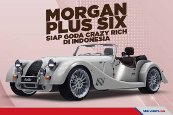 Mobil Morgan Plus Six Siap Goda Crazy Rich di Indonesia