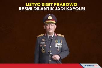 Listyo Sigit Prabowo Resmi Dilantik Jadi Kapolri