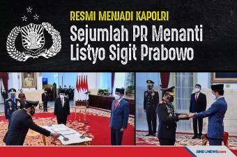 Resmi Jadi Kapolri, Sejumlah PR Siap Menanti Listyo Sigit Prabowo