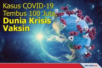 Kasus COVID-19 Tembus 100 Juta, Dunia Krisis Vaksin