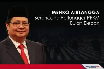 Menko Airlangga Berencana Perlonggar PPKM Bulan Depan