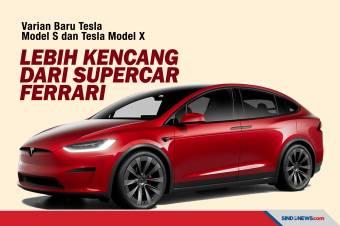 Varian Baru Tesla Lebih Kencang dari Supercar Ferrari