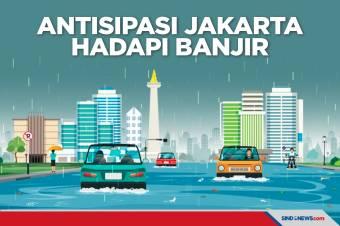 Antisipasi BPBD DKI Hadapi Banjir Di Wilayah Jakarta