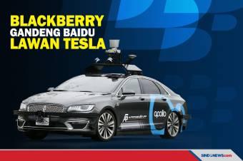BlackBerry Gandeng Baidu Melawan Mobil Otonom Tesla