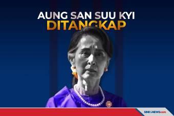 Dikudeta Militer, Suu Kyi dan Presiden Myanmar Ditangkap