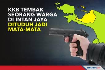 KKB Tembak Seorang Warga di Intan Jaya, Dituduh Jadi Mata-mata