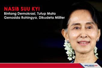 Nasib Suu Kyi: Bintang Demokrasi, Tutup Mata Genosida Rohingya