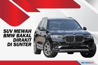 SUV Termahal BMW Bakal Dirakit di Indonesia