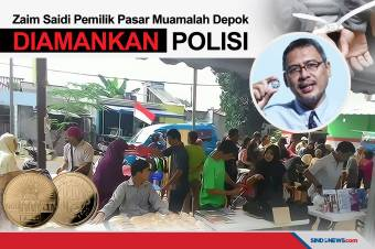 Fakta Pasar Muamalah Depok Milik Zaim Saidi yang Diamankan Polisi