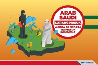 Termasuk Indonesia, Arab Saudi Cegah Masuk Warga Asing dari 20 Negara