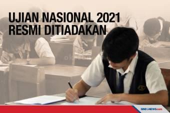 Mendikbud Nadiem Resmi Tiadakan Ujian Nasional 2021