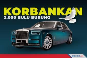 3.000 Bulu Burung Dikorbankan untuk Rolls-Royce Edisi Spesial