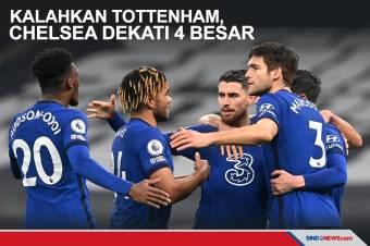 Bungkam Tottenham Hotspur, Chelsea Dekati Empat Besar