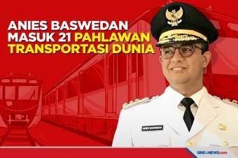 Integrasikan Transportasi, Anies Masuk 21 Pahlawan Transportasi Dunia