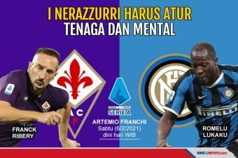 Jadwal Ketat, Inter Milan Harus Atur Tenaga dan Mental
