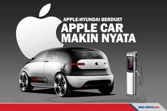 Apple-Hyundai Sepakat Kerja Sama, Apple Car Makin Nyata