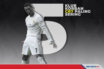 5 Klub yang Paling Sering Jadi Korban Cristiano Ronaldo