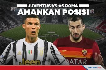 Juventus vs AS Roma: Jangan Tergelincir Nyonya Tua