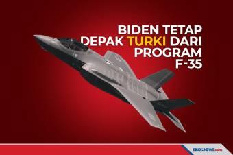 Biden Tetap Depak Turki dari Program Jet Tempur F-35