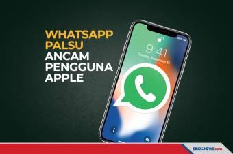 Aplikasi WhatsApp Palsu Mengintai Pengguna Ponsel Apple
