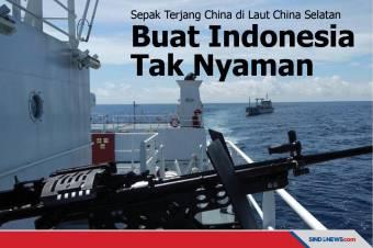 Sepak Terjang China di LCS Buat Indonesia Tak Nyaman