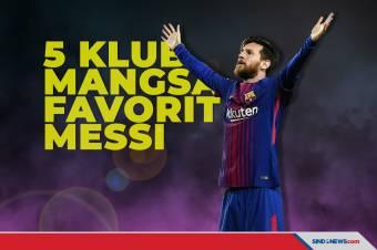 Ini Lima Klub yang Jadi Mangsa Favorit Lionel Messi