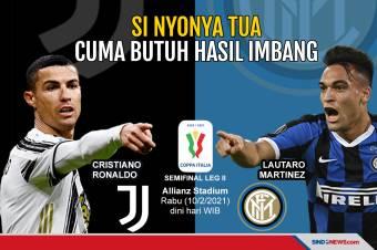 Menang pada Leg I, Juventus Hanya Butuh Hasil Imbang
