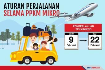 Aturan Perjalanan Selama PPKM Skala Mikro Mulai Berlaku Hari Ini