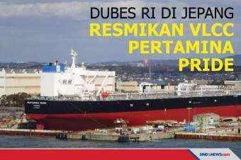 Dubes RI di Jepang Meresmikan VLCC PERTAMINA PRIDE
