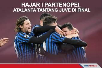 Bekuk Napoli 3-1, Atalanta Tantang Juve di Final Coppa Italia