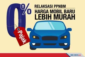 PPnBM Sebesar 0%, Harga Mobil Baru Bakal Lebih Murah