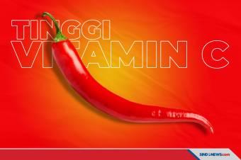 Vitamin C Pada Cabai Tinggi, Ini Manfaatnya untuk Kesehatan